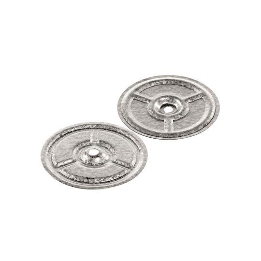 "GAF 3"" Drill-Tec™ Galvalume Steel Plate Bucket of 1,000 Silver"