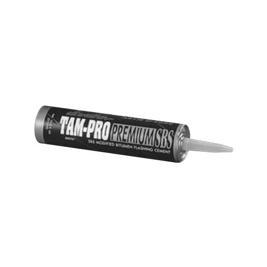 TAMKO TAM-PRO Q-20 Premium SBS Flashing Cement - 10.5 Oz. Tube
