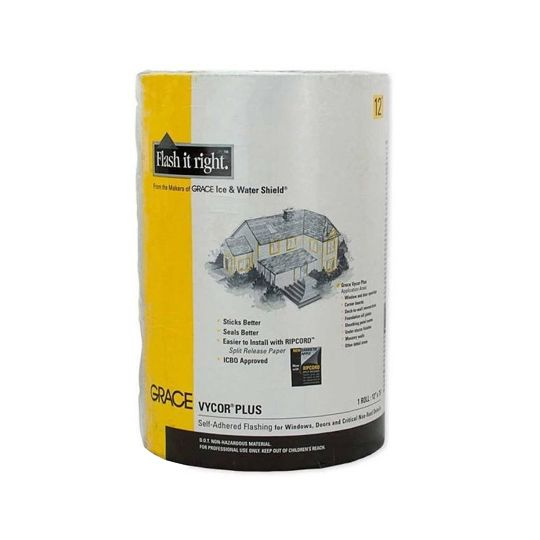 "GCP Applied Technologies 12"" x 75' Vycor® Plus Black-Grey"