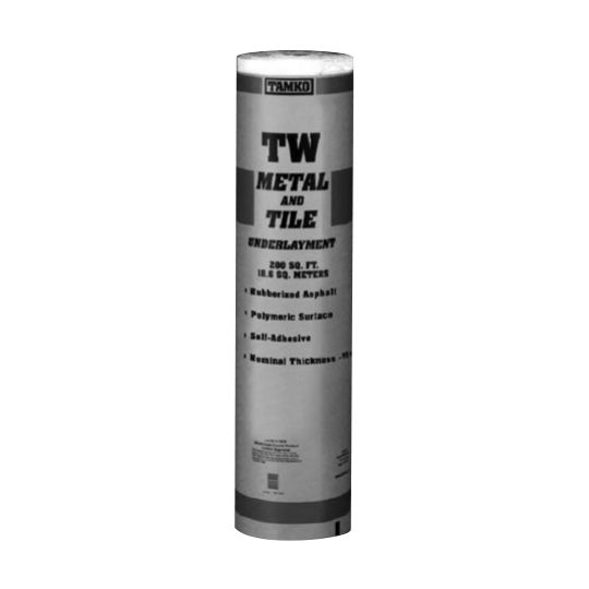 TAMKO TW Metal and Tile Underlayment - 2 SQ. Roll