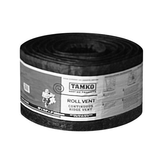 """TAMKO 10-1/2"""" x 50' Roll-Vent Continuous Ridge Vent"""