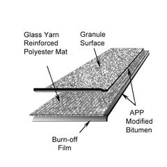 Firestone Building Products APP 180 Granule-Surface APP Modified Bitumen...