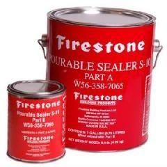 Firestone Building Products Pourable Sealer S-10 - Part-A & B