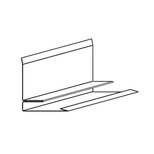 TAMKO 10' MetalWorks® Sidewall Flashing Sierra Slate Grey