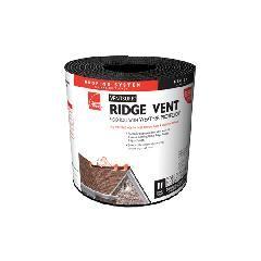 "Owens Corning 11"" x 20' VentSure® Rigid Roll Ridge Vents"