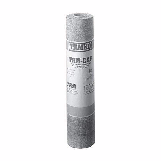 TAMKO TAM-CAP Mineral-Surfaced Fiberglass Cap Sheet - 1 SQ. Roll White