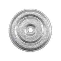"Trufast 3"" Galvalume Recessed Insulation Plates - Bucket of 1,000"