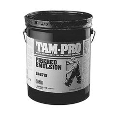 TAMKO TAM-PRO 846 Fibered Emulsion Coating - 5 Gallon Pail