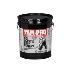 TAMKO TAM-PRO 801 Plastic Roof Cement - Summer Grade - 5 Gallon Pail