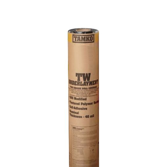 TAMKO TW Self-Adhering Roofing Underlayment - Winter Grade - 2 SQ. Roll