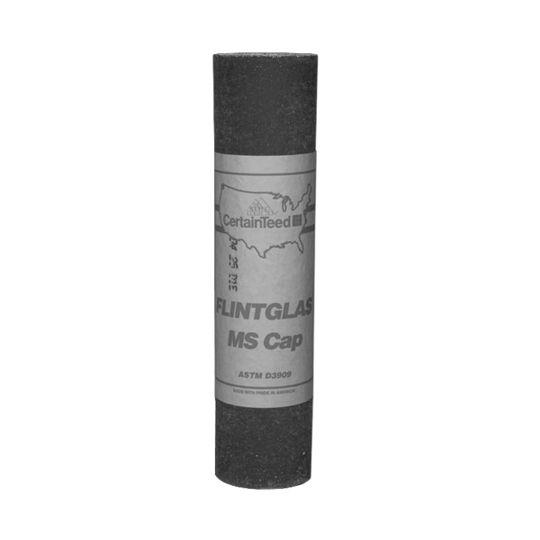 CertainTeed Roofing Flintglas Cap Sheet - 1 SQ. Roll White