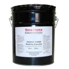 Firestone Building Products Ceramic Coated Roofing Granules - 50 Lb. Pail