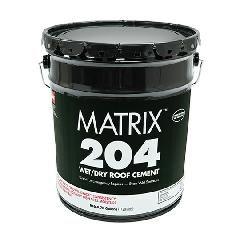 GAF Matrix™ 204 Wet/Dry Roof Cement