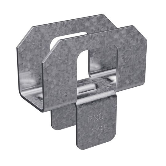 "Simpson Strong-Tie 20 Gauge 1/2"" Galvanized Plywood Sheathing Clip - Carton of 250"
