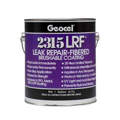 Geocel 2315 Leak Repair-Fibered Brushable Coating - 1 Gallon Can