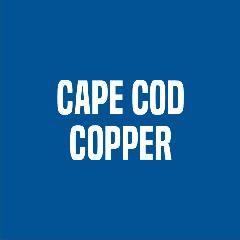"Cape Cod Copper 5"" 16 Oz. Copper HR Double Bead Gutter"