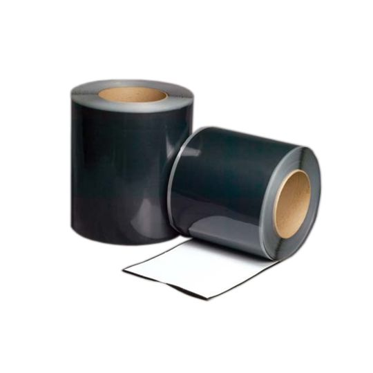"Versico 6"" x 100' VersiGard EPDM Quick-Applied Uncured Flashing Black"