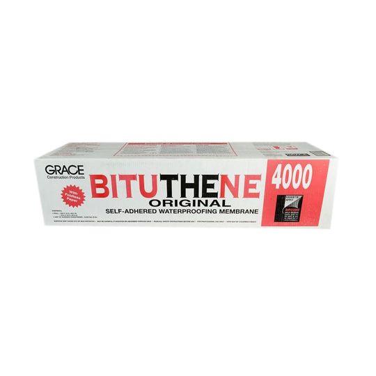 GCP Applied Technologies 3' x 66.7' Bituthene® 4000 Membrane - 2 SQ. Roll Dark Grey-Black