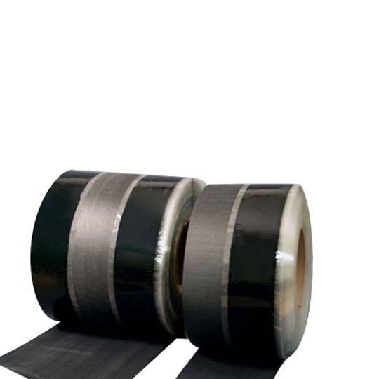 "Versico 75 mil 6"" x 100' VersiGard® EPDM Quick-Applied (QA) Reinforced Termination Strip (RTS) Black"