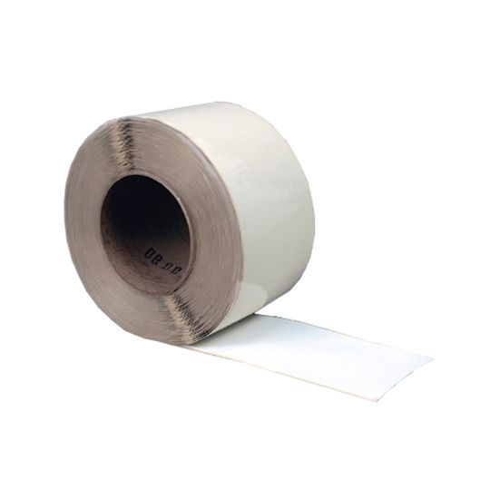 "Versico 6"" x 100' VersiWeld TPO Quick-Applied Cured Cover Strip White"