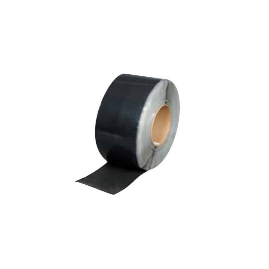 "Versico 6"" x 100' VersiGard EPDM Quick-Applied Cured Cover Strip Black"