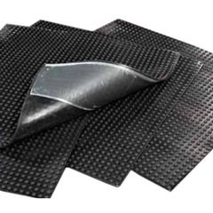 "Versico 30"" x 30"" VersiGard EPDM Quick-Applied Walkway Pad"