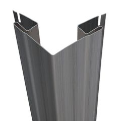 "CertainTeed Vinyl Building Products 3/4"" Outside Corner Post - Woodgrain..."