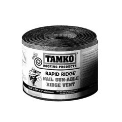 "TAMKO 10-1/2"" x 50' Rapid Ridge Nail Gun-Able Ridge Vent"