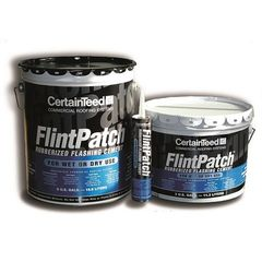 CertainTeed Roofing FlintPatch (Wet/Dry) Rubberized Flashing Cement - 3...