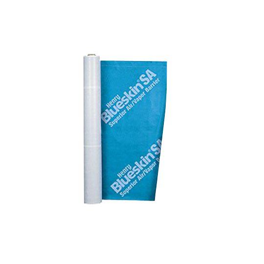 "Henry Company 18"" x 75' Blueskin® SA Self-Adhered Air & Vapor Barrier Membrane Blue"