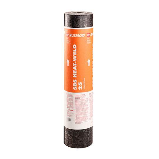 """GAF 39-3/8"""" x 49.2' RUBEROID® HW 25 Smooth Membrane 1.5 SQ. Roll"""