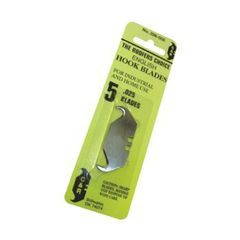 C&R Manufacturing Retail Carded Hook Blades - Pack of 5