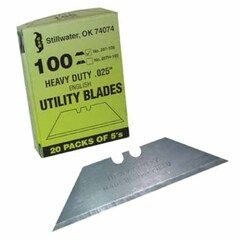 C&R Manufacturing Utility Blades - Pack of 100
