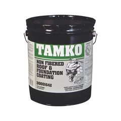 TAMKO Non-Fibered Roof & Foundation Coating - 5 Gallon Pail