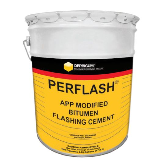 Performance Roof Systems Perflash Modified Bitumen Flashing Cement - 5 Gallon Pail