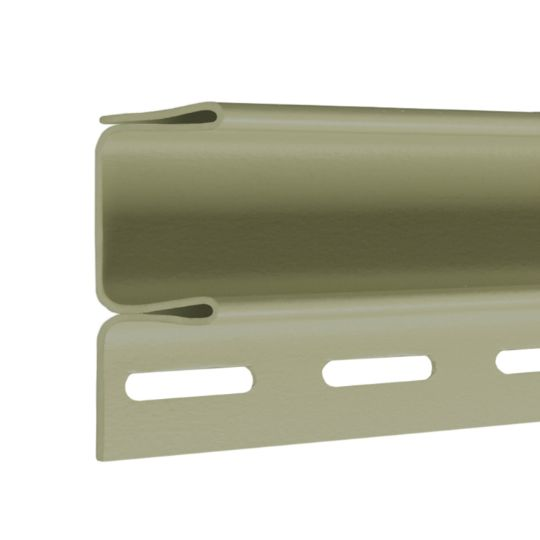 """CertainTeed Vinyl Building Products 3/4"""" F-Channel - Matte Finish Sterling Grey"""