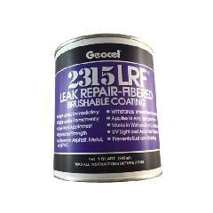 Geocel 2315 Leak Repair-Fibered Brushable Coating - 1 Quart Can