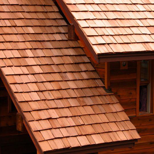 """Watkins Sawmill 3/4"""" x 24"""" Western Red Cedar Heavy Hand Split Shakes"""
