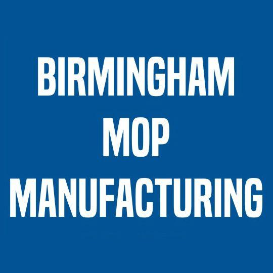 Birmingham Mop Manufacturing Mop Hank 40 Oz. 2.5# Blue