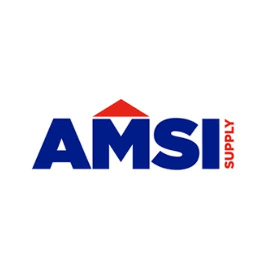"AMSI Supply CMS 1"" Stainless Steel 26 Gauge Flat Lock Clip"