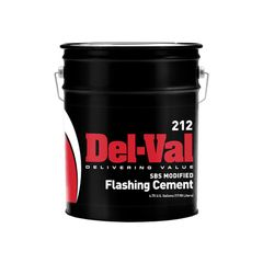 United Asphalt (New Jersey) Del-Val SBS Modified Flashing Cement - 5...
