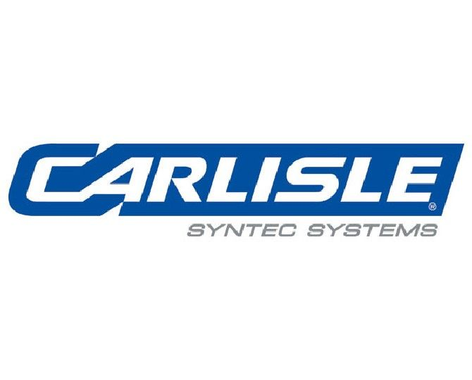 """Carlisle Syntec 60 mil 25' x 100' Sure-Seal® EPDM Dusted FR Non-Reinforced Membranes with 6"""" Factory-Applied Tape"""