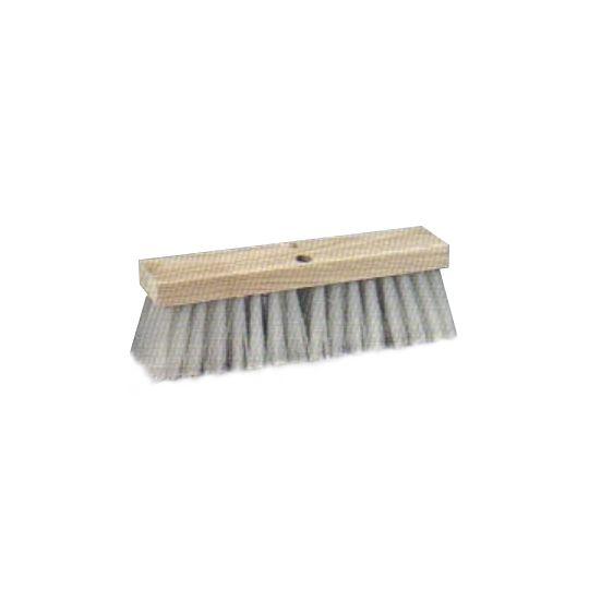 "Luco Mop 16"" White Plastic Street Brooms"