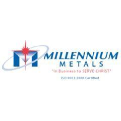 "Millennium Metals 26 Gauge x 6"" Galvanized Eave Drip"