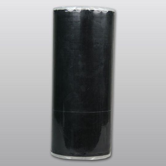 "Carlisle Syntec 60 mil 20"" x 50' Sure-Seal® EPDM Pressure-Sensitive Curb Flashing with 6"" SecurTape Black"