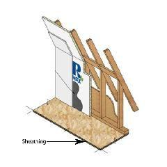 """Rmax 3/4"""" x 4' x 8' R-Matte® Plus-3 Polyiso Insulation Sheathing"""