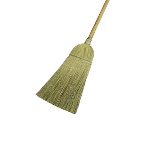 Generic Corn Broom with Wire Band