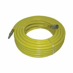 "C&R Manufacturing 50' x 3/8"" PVC Air Hose with Ends"