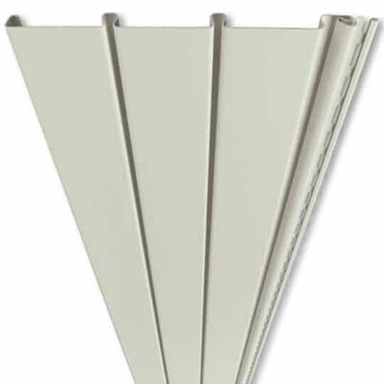 "Mastic Ventura Triple 3-1/3"" Non-Ventilated Vinyl Soffit/Wainscot Panel Linen"