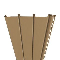 "Mastic Ventura Triple 3-1/3"" Ventilated Hidden Vent Vinyl Soffit Panel"